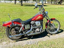 1985 Harley-Davidson Shovelhead FXWG FX Wide Glide Survivor Evo Antique