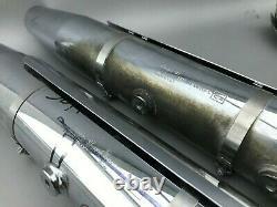 65682-07 65685-07 HARLEY HERITAGE SOFTAIL ab 2007 12mm TÜV AUSPUFFANLAGE