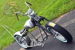 Fatbob Shovelhead Chopper Rigid Bobber Harley Rolling Chassis Frame Big Twin EVO