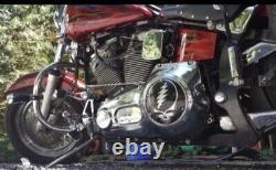 Grateful Dead Stealie Evo / Shovelhead (3 hole) Derby Cover for Harley-Davidson