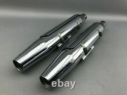 HARLEY DAVIDSON Schalldämpfer für FXD, FXDB, FXDC, FXDL, OEM 65868-07 66025-07