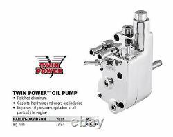 HARLEY Oil Pump FX FL SHOVELHEAD EARLY EVO BIG TWIN 73-91 Twin Power 495534