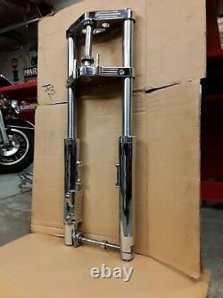 Harley 41mm Wide Glide Frontend +5 Length 5° Rake Evo Panhead Shovelhead 1 Stem