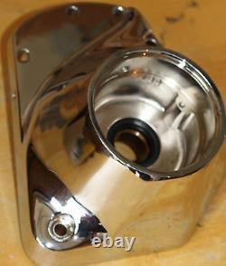 Harley Chrome Cam Cover Fits 1973-1992 Shovelhead & 80 Evo Quality Motor #422