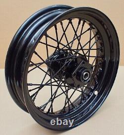 Harley Custom Rad hinten 16 X 4 black rear Wheel Shovelhead Evo Dyna Softail