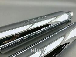 Harley Davidson Auspuff Exhaust Schalldämpfer Muffler Chrom 65289-05 65295-05