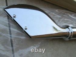 Harley-Davidson Chrome Classic Fishtail Muffler Shovelhead EVO