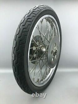 Harley Davidson Doppelflansch Shovelhead Speichenfelge Felge 21-1,85 Vorderrad