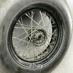 Harley-Davidson Ironhead Felge 15 x 5.00 Edelstahlspeichen