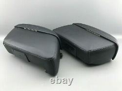 Harley-Davidson Leder Satteltaschen Schnellverschluss Koffer Set