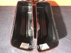 Harley Davidson Seitenkoffer FLH E-Glide Road King Touring 90200412 & 90200414
