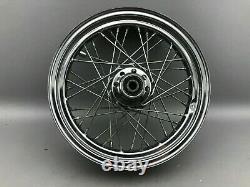 Harley Davidson Vorderrad Speichenfelge Felge 16 Zoll T 16-3,00