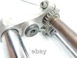 Harley Oem Fxr Fx Shovelhead Sportster Evo 35mm Narrow Glide Dual Disc Front End