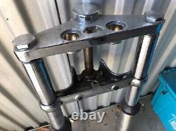 Harley Shovelhead Evo FXE FLH FL FXWG Wide Glide 41mm Front Forks dual disc