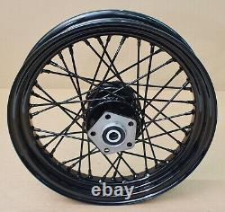Harley original Rad hinten 16 X 3 black rear Wheel Shovelhead Evo Dyna Softail