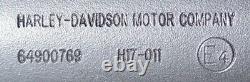 Harley original Schalldämpfer schwarz Exhaust Muffler black Touring MK8