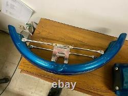 NOS Blue Front Fender Harley FXR Dyna Sportster Factory Paint Evo Shovelhead Ful