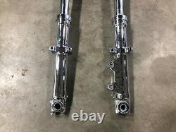 NOS Harley Custom Chopper Front End Forks Wide Glide Shovelhead Panhead Evo FL