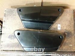 OEM Harley Davidson 82-94 Left Right Side Cover Shovelhead Evo FXR FXRS FXLR