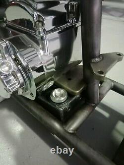 Tinworksinc Harley Under Trans Oil Tank, Bobber Shovelhead/Evo/Pan